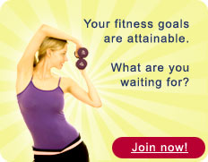Your fitness goals are attainable. What are you waiting for? Join now!